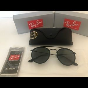 Ray ban double bridge size 51 unisex brand new
